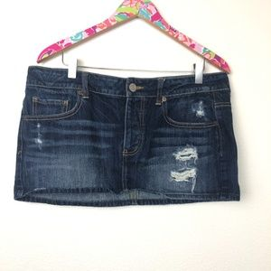 American Eagle mini skirt size 10 // 1312